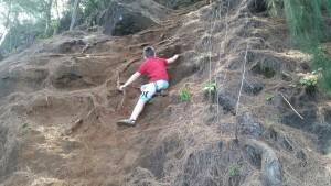 Climbing boy aka:me!
